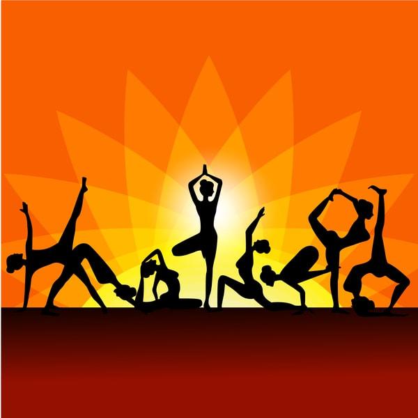 A la découverte du yoga - Différentes postures