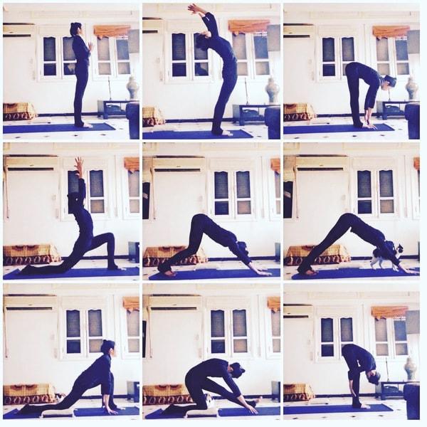 yoga postures asanas débutant