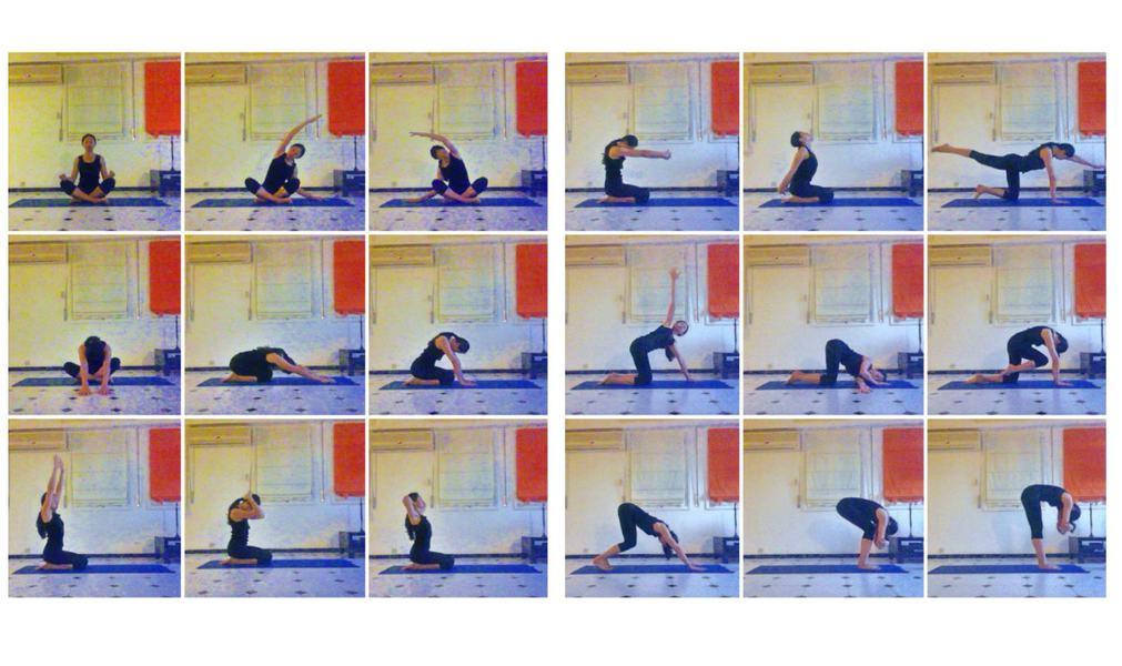 Yoga du matin postures de yoga asanas